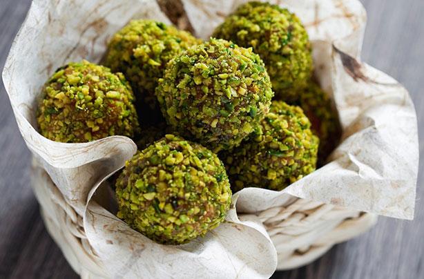 Cranberry and pistachio truffles recipe - goodtoknow