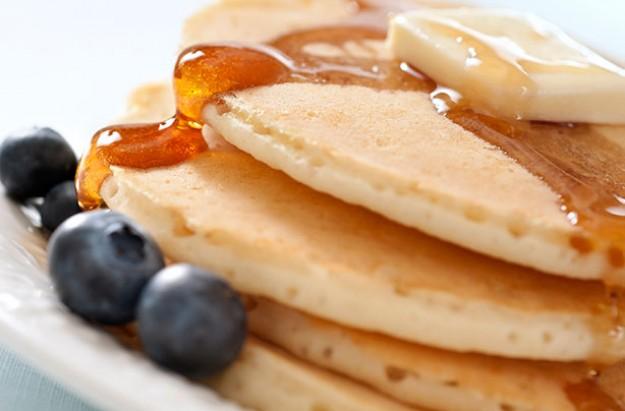 Grilled Fruit Breakfast Pancakes