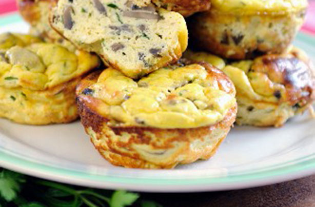 and goat cheese s and wiches mushroom and goat cheese mini frittatas ...