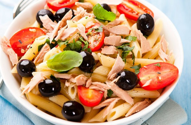Italian Tuna and Tomato Penne Pasta