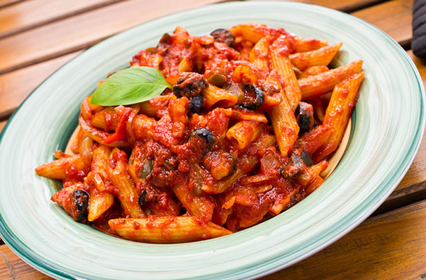 Penne Pasta Arrabbiata recipe - goodtoknow