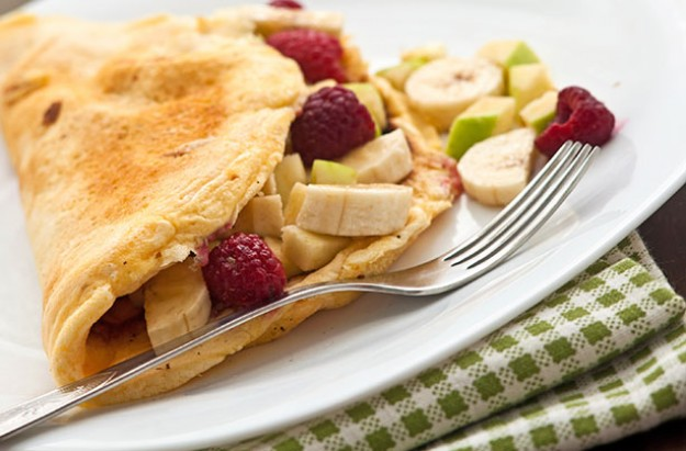 Sweet Fruit Omelette