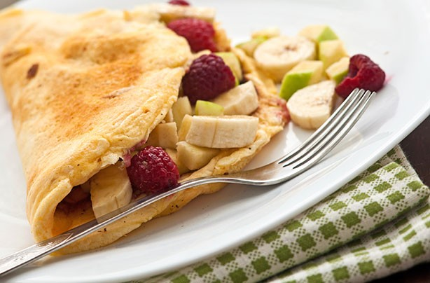Sweet Fruit Omelette