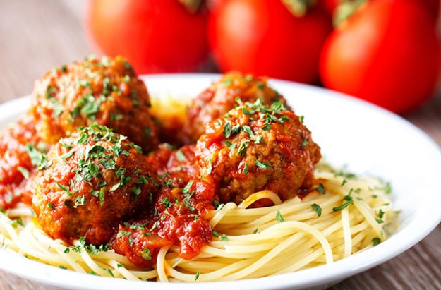 Tomato Pasta Meatballs