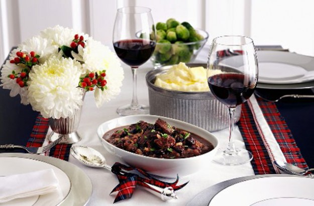 venison in red wine
