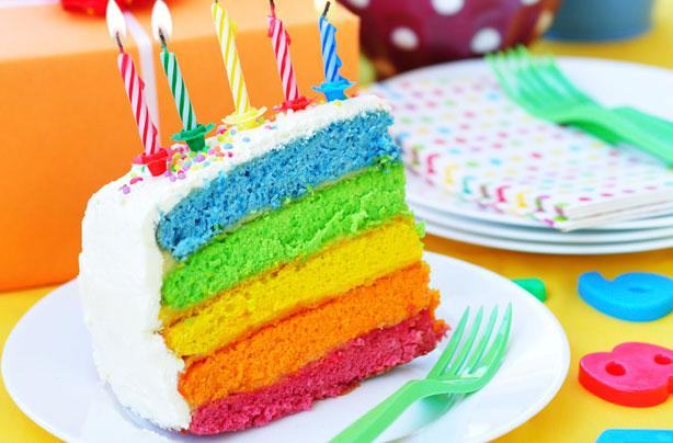 How Do You Make Multi Coloured Sponge Cake