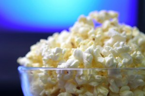 Sweet and salty spicy popcorn
