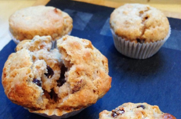 Morning muesli muffins