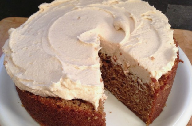 Banana cake with brown sugar frosting recipe - goodtoknow