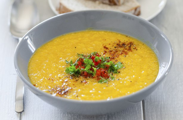 Dairy-free smoked chilli sweetcorn chowder