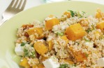 Squash and feta quinoa