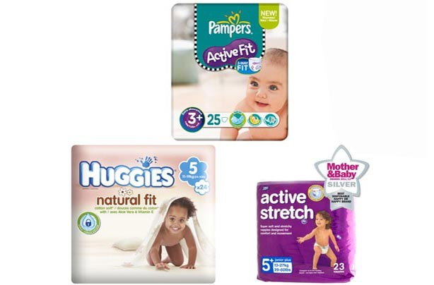 Active fit nappies