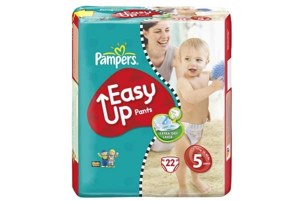 Pampers easy-up nappies