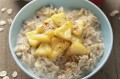 Apple and cinnamon porridge