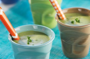 Broad bean and cumin soup