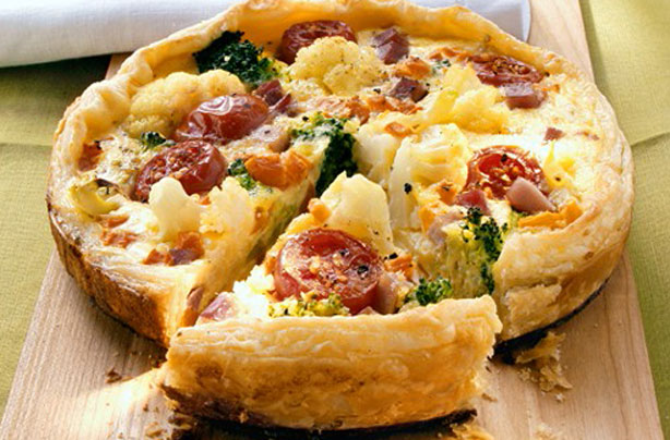 Cauliflower and tomato tart recipe - goodtoknow