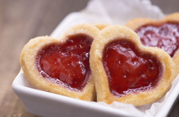 Jammy Dodger hearts