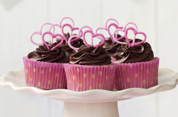 Wickedly rich chocolate cupcakes