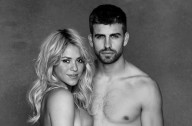 Pregnant Shakira and husband