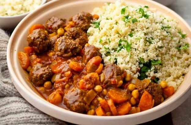 Moroccan meatball tagine recipe - goodtoknow