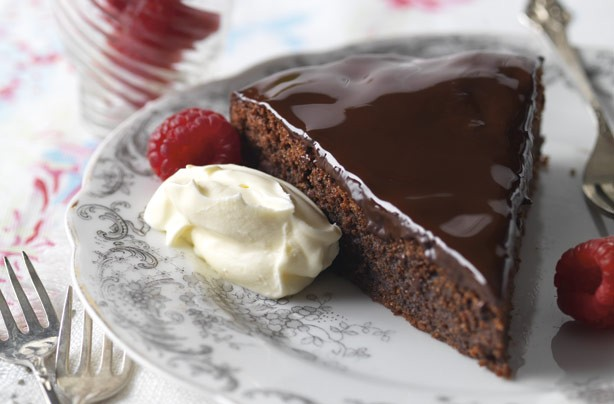 Rich chocolate torte