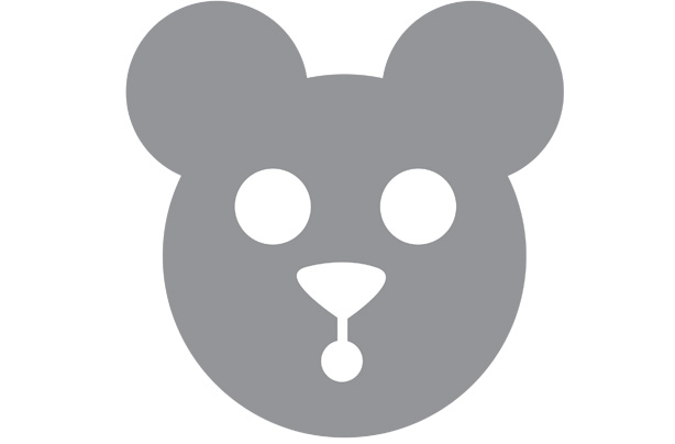 Download our teddy bear pancake template