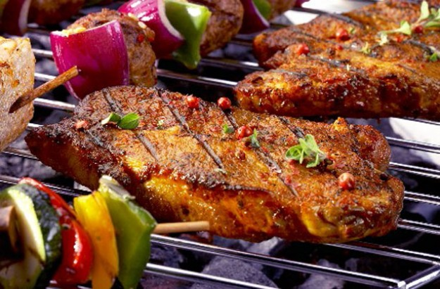 Sweet and sour pork steaks