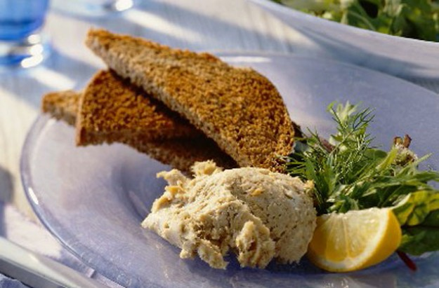Easy smoked mackerel pate