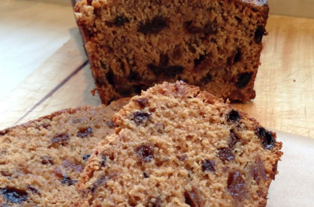 Tea loaf with ginger
