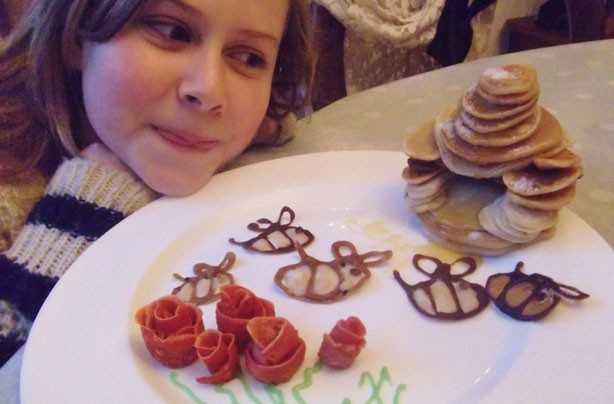 Tiffany's pancake