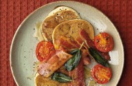 Buckwheat and buttermilk pancakes