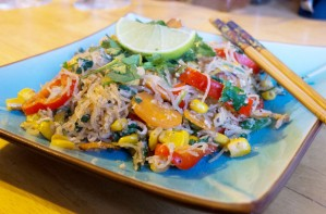 Thai style stir-fry