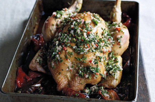 James Martin roast chicken