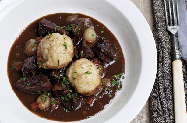 Venison Stew With Orange, Thyme And Cheddar Dumplings Recipes ...