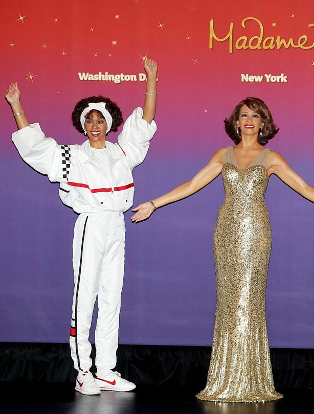 Whitney Houston waxworks