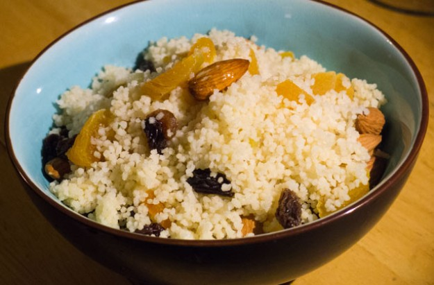 Couscous pilaf