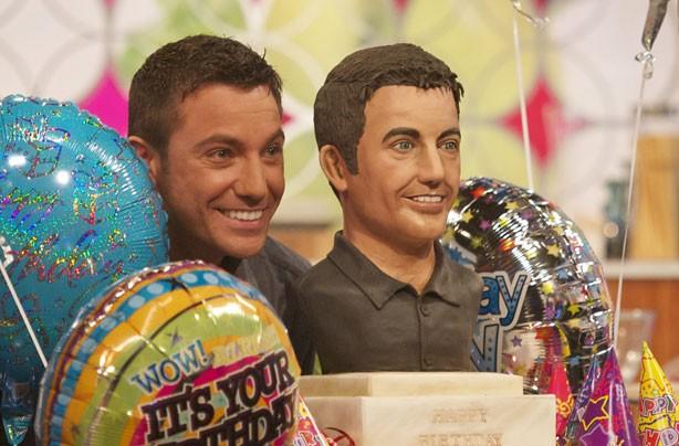 Gino D'Acampo birthday cake