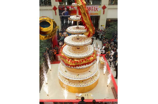 Tallest cake in the world
