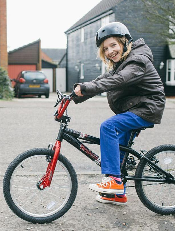 Testing the Apollo Vendetta BMX bike