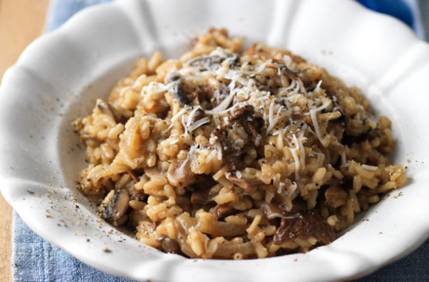 How to make mushroom risotto
