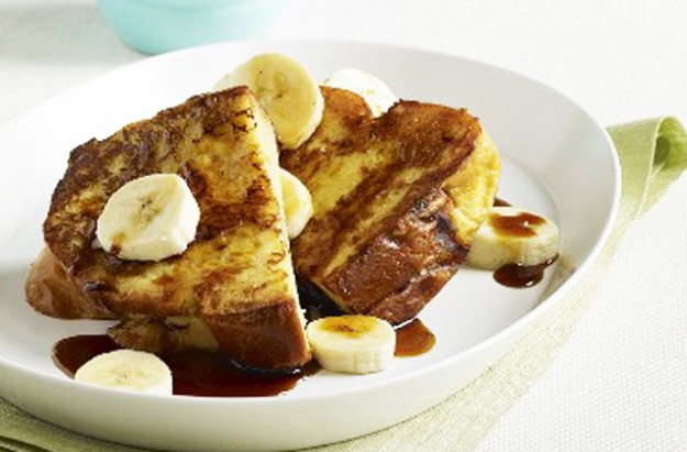 Banana maple French toast