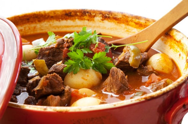 Lamb chilli casserole