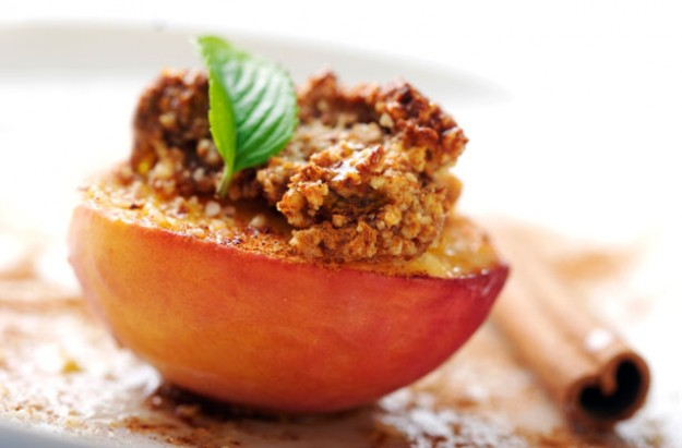 Coconut almond nectarines