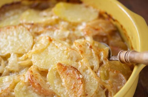 West country potato hotpot