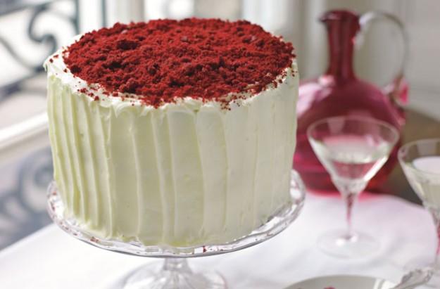 Stacie Stewart's red velvet cake