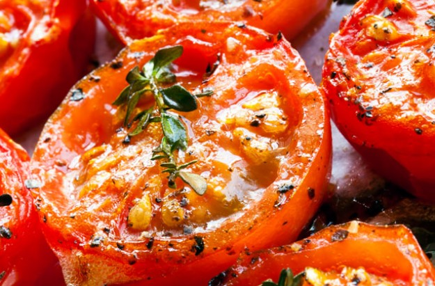 Herby roast tomatoes