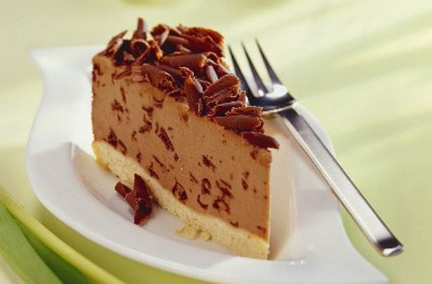 Chocolate hazelnut cheesecake