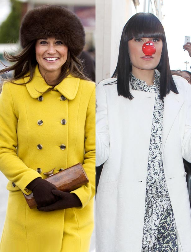 Pippa Middleton and Jessie J