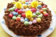 Easter nest cake | Easter egg recipes