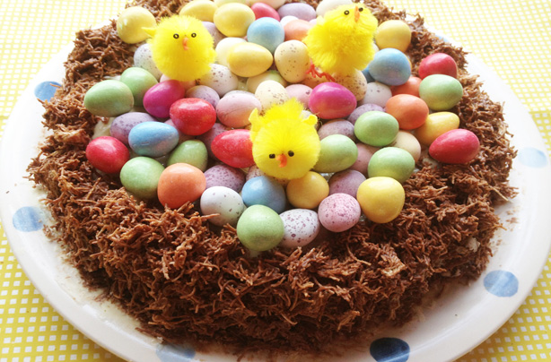 Easter nest cake recipe - goodtoknow